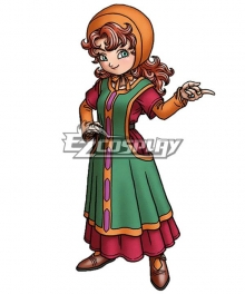 Dragon Quest VII Maribel Cosplay Costume