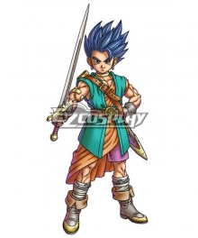Dragon Quest VI Hero Cosplay Costume