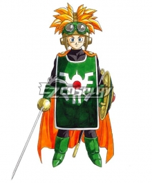 Dragon Quest II Prince of Cannock Cosplay Costume