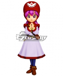 Dragon Quest II Princessa Princess of Moonbrooke Cosplay Costume