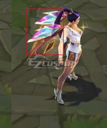 League Of Legends LOL 2020 KDA Kai'Sa Kaisa Prestige Edition Cosplay Weapon Prop