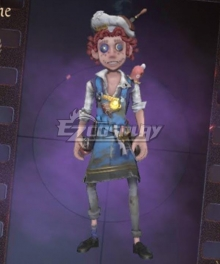 Identity V Acrobat Mike Morton Cocoa Bean Halloween Cosplay Costume