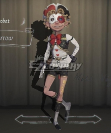 Identity V Acrobat Mike Morton Sparrow Halloween Cosplay Costume