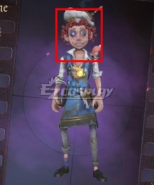 Identity V Acrobat Mike Morton Cocoa Bean Halloween Red Cosplay Wig