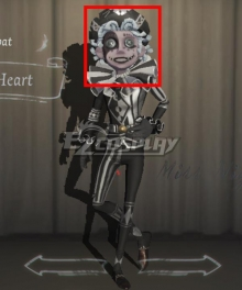 Identity V Acrobat Mike Morton Fool's Heart Halloween Grey Cosplay Wig