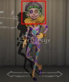 Identity V Acrobat Mike Morton Lilac Halloween Green Cosplay Wig
