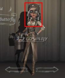 Identity V Barmaid Demi Bourbon Swallowtail Butterfly Halloween Black Cosplay Wig