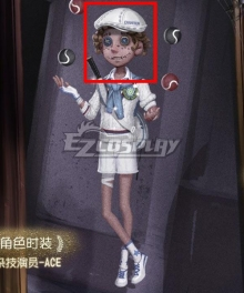 Identity V Acrobat Mike Morton ACE Brown Halloween Cosplay Wig