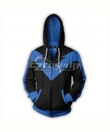 DC Comics Nightwing Robin Dick Grayson Coat Hoodie Cosplay Costume