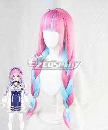 Hololive Youtuber Vtuber Aqua Pink Cosplay Wig
