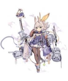 Azur Lane IJN Kitakaze Cosplay Costume