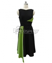 The Marvelous Mrs. Maisel Season 3 Miriam 'Midge' Maisel Black Green Dress Cosplay Costume