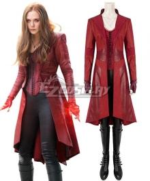 Marvel Captain America Civil War Scarlet Witch Wanda Maximoff C Cosplay Costume
