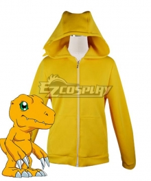 Digimon Adventure Agumon Digital Monster Sweater Cosplay Costume