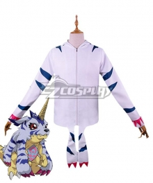 Digimon Adventure Gabumon Digital Monster Sweater Cosplay Costume