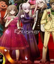 Danganronpa 10th Anniversary Dangan Ronpa Kyoko Kirigiri Dress Cosplay Costume