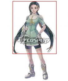 LOST SPHEAR Lumina Black Cosplay Wig