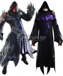 Final Fantasy XIV FF14 Lahabrea Cosplay Costume