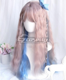 Japan Harajuku Lolita Series Magic flute Pink Cosplay Wig