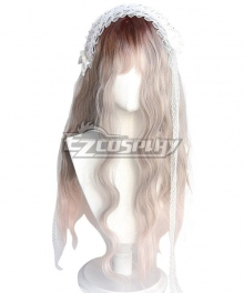 Japan Harajuku Lolita Series Mo Linglong White Cosplay Wig