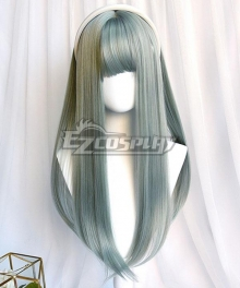 Japan Harajuku Lolita Series Emerald Green Cosplay Wig