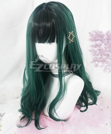 Japan Harajuku Lolita Series Polaris Green Cosplay Wig