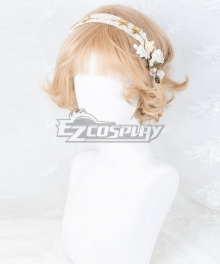 Japan Harajuku Lolita Series Heidi Golden Cosplay Wig