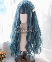 Japan Harajuku Lolita Series Ocean Blue Cosplay Wig