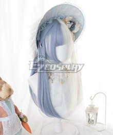 Japan Harajuku Lolita Series Witch dream White Cosplay Wig