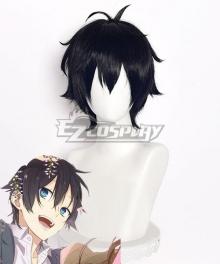 Horimiya Hori-san to Miyamura-kun Izumi Miyamura Black Cosplay Wig - C Edition
