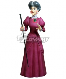 Disney Cinderella Lady Tremaine Wicked Stepmother Earrings Ring Pectoral Cosplay Accessory Prop