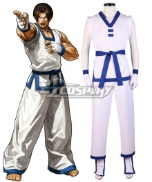 The King Of Fighters XIII KOF Kim Kaphwan Cosplay Costume