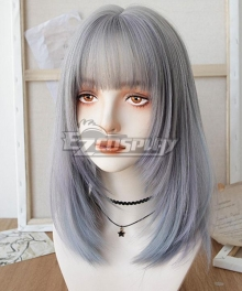 Japan Harajuku Lolita Series Golden Black Cosplay Wig - D Edition