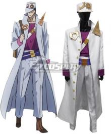 Jojo'S Bizarre Adventure: Unbreakble Diamond Jotaro Kujo Cosplay Costume - E Edition