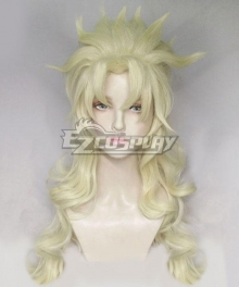 Jojo'S Bizarre Adventure Caesar Anthonio Zeppeli Female Golden Cosplay Wig
