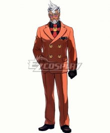 Ace Attorney Damon Gant Cosplay Costume
