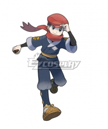 Pokemon Pokémon Legends: Arceus Male protagonist Cosplay Costume