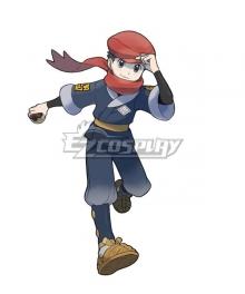 Pokemon Pokémon Legends: Arceus Male protagonist Cosplay Costume