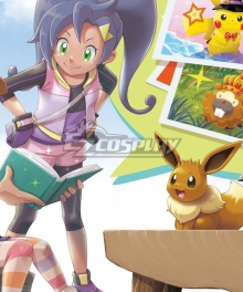 New Pokemon Pokémon Snap Rita Cosplay Costume