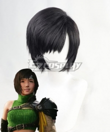 Final Fantasy VII Remake Intergrade FF7 Yuffie Kisaragi Black Cosplay Wig