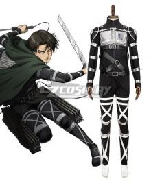 Attack On Titan Shingeki No Kyojin Final Season Levi Ackerman Cosplay Costume - 11