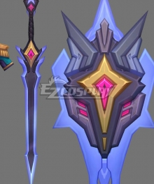 League Of Legends LOL Battle Academia Leona Weapon Prop