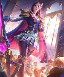 League of Legends LOL Battle Academia Caitlyn Cosplay Costume