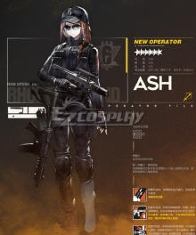 Arknights Ash Orange Cosplay Costume