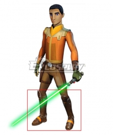 Star Wars Season 4 Ezra Bridger Brown Shoes Cosplay Boots