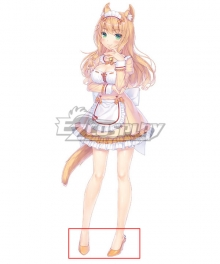 Nekopara Vol. 4 Maple Orange Cosplay Shoes