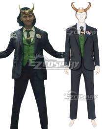 Marvel Loki 2021 Loki Cosplay Costume