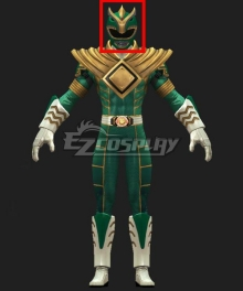 Mighty Morphin Power Rangers Green Ranger V2 Helmet Cosplay Accessory Prop