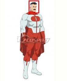 Invincible Omni-Man Black Grey Cosplay Wig