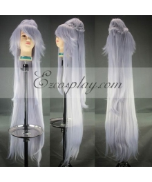 UN-GO Ungo White Cosplay Wig-269A